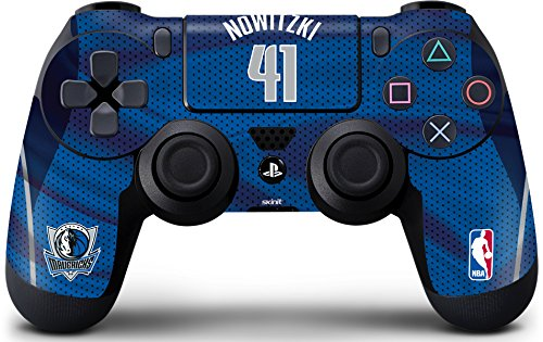 Dallas Mavericks PS4 Controller Skin - Dirk Nowitzki Dallas Mavericks Jersey | NBA & Skinit Skin by Skinit
