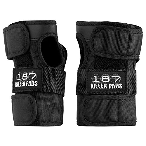 187 Wrist Guard Set Black XS