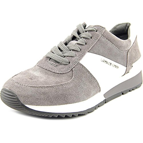 Michael Michael Kors Allie Trainer Women US 5.5 Gray Sneakers