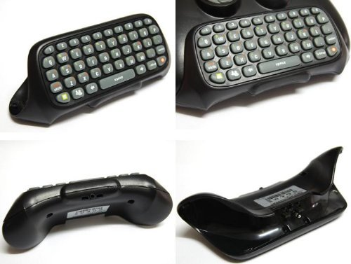 Chatpad Keyboard for Xbox 360 Game Controller Text Input
