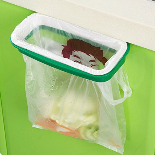Plastic Hanging Garbage Rubbish Bag Holder Kitchen Cupboard Garbage Bag Storage (Party City Costume Coupon)