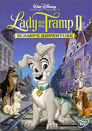 Amazon Com Lady The Tramp Ii Scamp S Adventure Scott Wolf Alyssa Milano Chazz Palminteri Jeff Bennett Jodi Benson Bill Fagerbakke Mickey Rooney Bronson Pinchot Cathy Moriarty Mary Kay Bergman Debi Derryberry Barbara