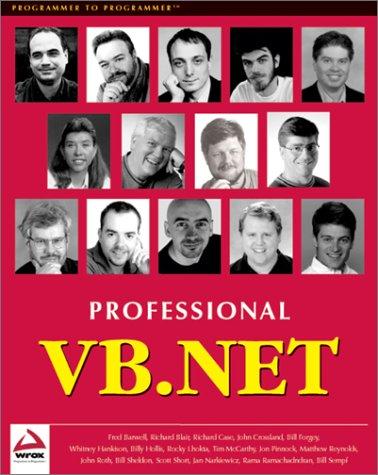 Professional VB.NET