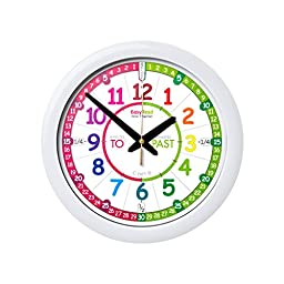 EasyRead Time Teacher Children\'s Wall Clock with simple 3 Step Teaching System. 12\