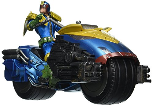 Mezco Toys One: 12 Collective: Judge Dredd with Lawmaster Bike Action Figure Box Set