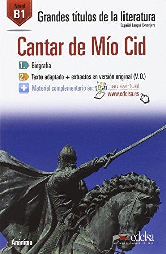 Cantar de Mio Cid(B1) (Spanish Edition) [Anonimo] (Tapa Blanda)