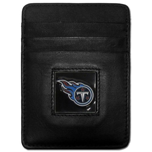 Siskiyou Houston Texans Leather Money Clip/Cardholder Packaged in Present Box