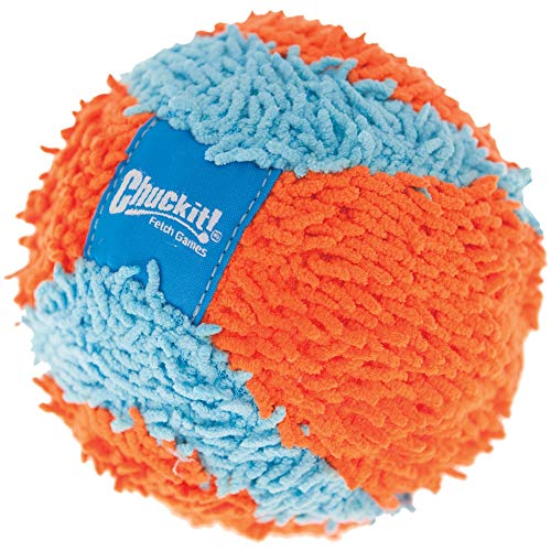 Chuckit! Indoor Ball for Small Dogs and Puppies Dog Toy Orange/Blue One Size
