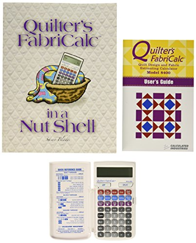 Callen Quilter's FabriCalc Plus Companion Workbook Bundle (Calculator Knit)