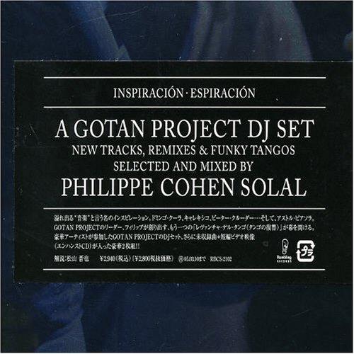 Gotan Project DJ Set Cash special price Popular overseas