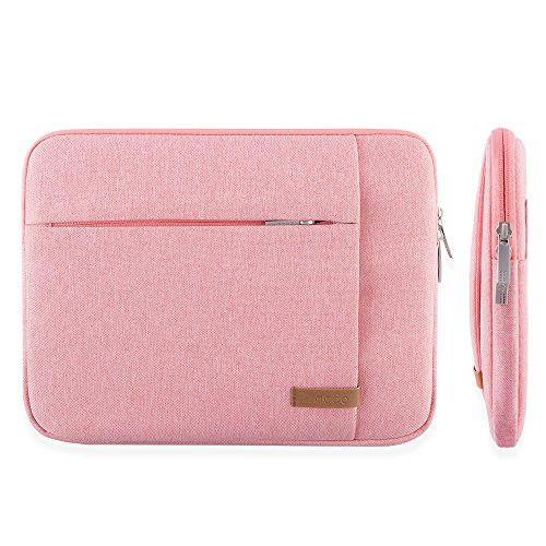 Lacdo 15.6 Inch Laptop Sleeve Aspire/Predator, Toshiba, Dell ASUS P-Series, Lenovo, MSI GL62M, Notebook Resistant, Pink