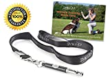 IMK9 Dog Training Whistle - Free eBook and Lanyard Necklace - Small and Large Dogs Obedience Kit – Train Your Pet from Barking and Make Dogs Come to You – Completely Safe and Humane – Great Gift
