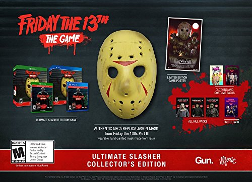 Friday The 13th: The Game Ultimate Slasher Collector's Edition - Xbox One (Friday The 13th Game Xbox One X)