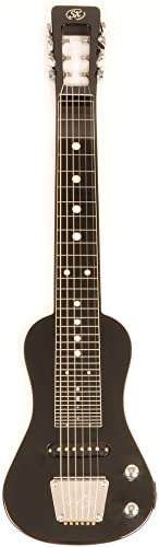 SX LAP 3 Black Lap Steel Guitar