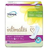 Tena Incontinence Pads for Women, Heavy, Long, 39 Count (packaging may vary)