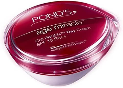 Pond's Age Miracle Wrinkle corrector Day Cream SPF 15 PA++(50G)