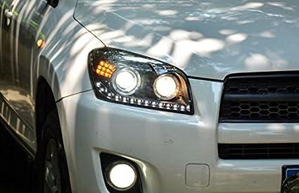 Amazon Com Gowe Car Styling Toyota Rav4 Headlights 2009 13 For Rav4