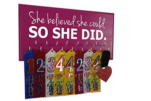 Medal Display - SHE Believed SHE Could, SO SHE DID for sale  Delivered anywhere in USA