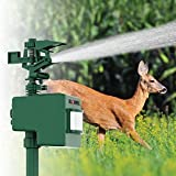 Bell + Howell Solar Powered Spray Away Motion Activated Animal Repeller