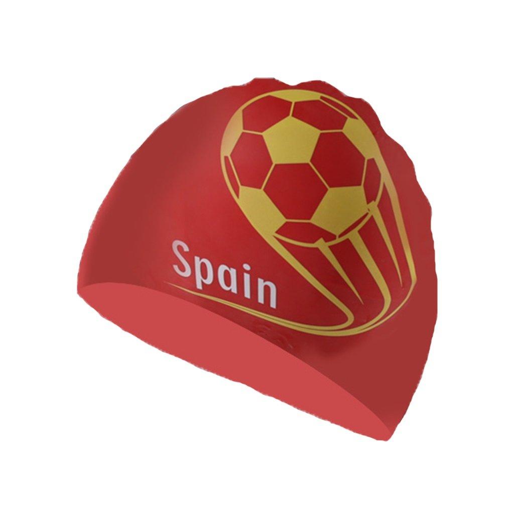 ZHOU LI Gorra de natación para Hombre de fútbol Copa del Mundo ...