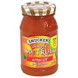 Smucker's Simply Fruit Spread - Apricot - 10 oz