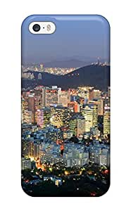 Durable Protector Case Cover With Seoul City Hot Design For Iphone 5/5s