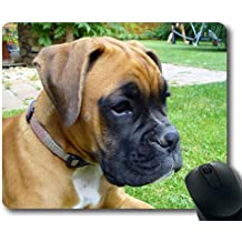 Gaming mouse pad mouse mat for mac and windows gamer Boxer Puppy for women/men/kids sold by Yanteng