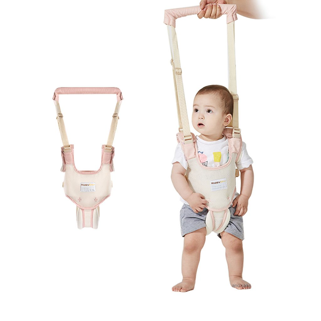 Baby Walking Harness Toddler Safety Reins Anti Lost Belt With Adjustable Strap , Pink Huizhou Weiyitian Trading CO. Ltd