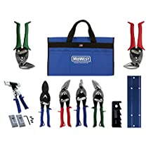 Midwest Tool and Cutlery MWT-HVACKIT03 9 Piece HVAC Platinum Kit with Tool Bag
