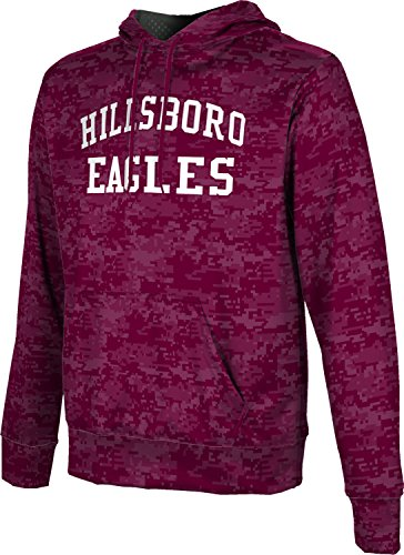 ProSphere Men's Hillsboro High School Digital Hoodie Sweatshirt - Tx Hillsboro 76645
