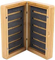 Maxcatch Classic Bamboo Wood Fly Box Fly Fishing Flies Box 2 Style