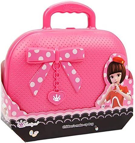 LULAA 23セット ままごと 子供 化粧品おもちゃ メイクアップセットおもちゃ  女の子 水溶性化粧品 安全 無毒 簡単に取り除く 収納箱と鏡付き 知育玩具 ドレッサーおもちゃ  お誕生日プレゼント