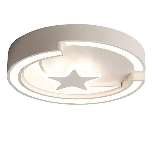 Lámpara de techo LED para niños y niñas con luz de techo para ...