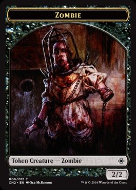 - Magic: the Gathering - Zombie Token (006/012) - Conspiracy 2: Take the Crown