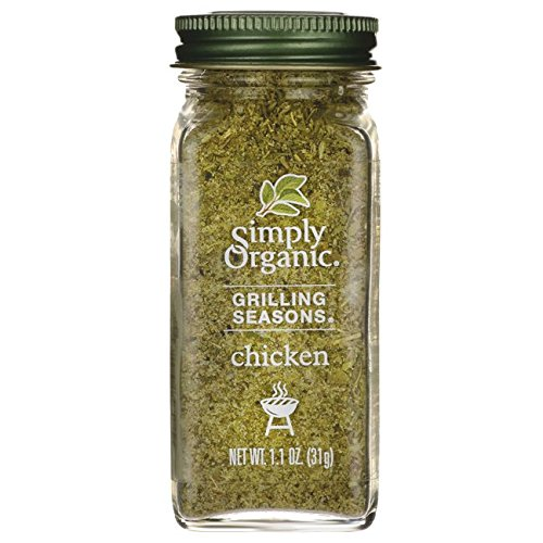 Simply Organic Grilling Seasons Chicken, 1.10 Ounce