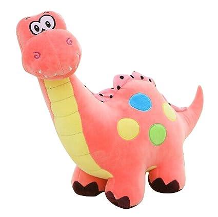 Amazon Com Remeehi Cute Pink Dinosaur Stuffed Animal Toy 55cm 21 65
