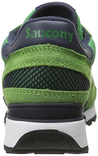 Uomo Saucony Shadow Sneaker Blk Grn Original wqtqrC