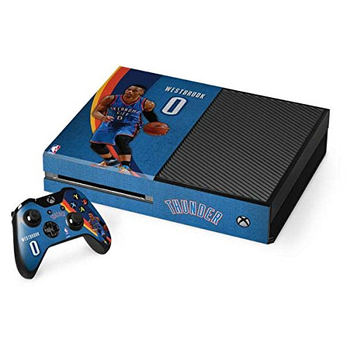 Oklahoma City Thunder Xbox One Console and Controller Bundle Skin - Russell Westbrook OKC Thunder Action Shot | NBA & Skinit Skin by Skinit