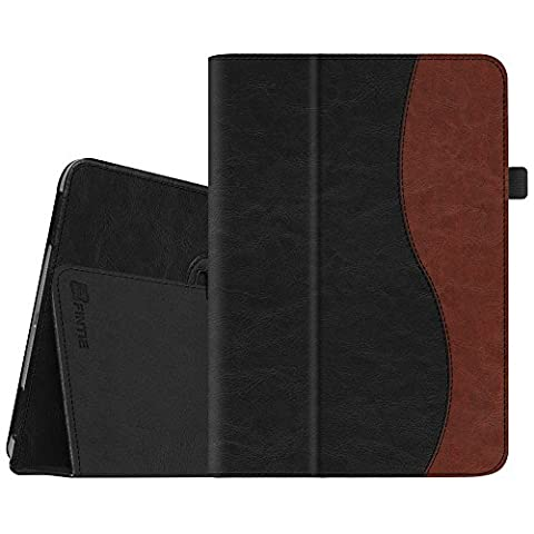 Fintie Apple iPad Air Folio Case - Slim Fit PU Leather Smart Stand Protective Cover with Auto Sleep / Wake Feature for iPad Air 2013 Model, Dual (Ipad Air 32gb Wifi Case)