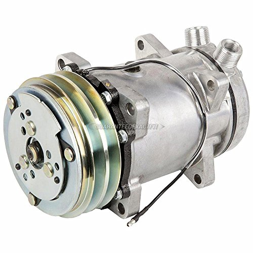 AC Compressor & A/C Clutch For Chevy GMC & Winnebago RV Replaces Sanden 9114 - BuyAutoParts 60-01709NA NEW