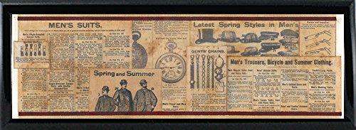 Men's Wallpaper Framed Print 16.00