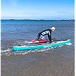 LXDDP-Stand-Paddle-Gonfiabile-Gonfiabile-Set-tavola-da-Surf-SUP-con-Paddle-Regolabile-Pinna-Pompa-Manuale-Zaino-e-Kit-di-Riparazione