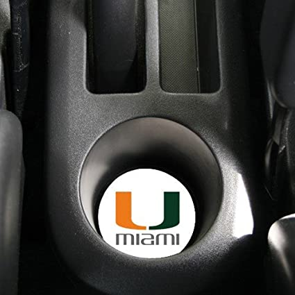 AutoCoaster ~ University of Miami Hurricanes ~ Tile Drink Coaster for car cup...