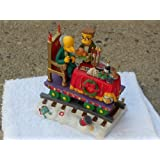 Hamilton Collection Simpsons Christmas Express Train - Feast for One Figurine