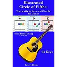 Illustrated Circle of Fifths: Your Guide to Keys and  Chords for Guitar
