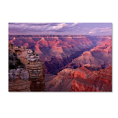 - Grand Canyon near Mather Point by Mike Jones Photo, 16x24-Inch Canvas Wall Art