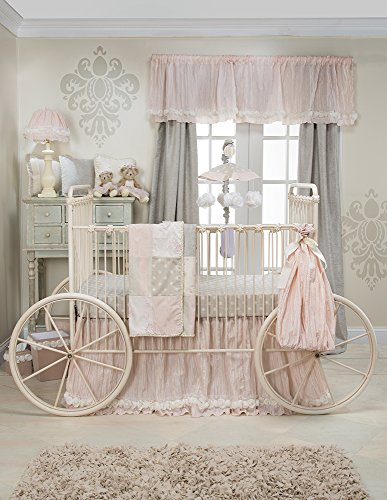 Glenna Jean Contessa Quilt, Crib Skirt with Sheet