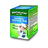 Mentholatum Natural Menthol Rub Ointment, 3.38-Ounce