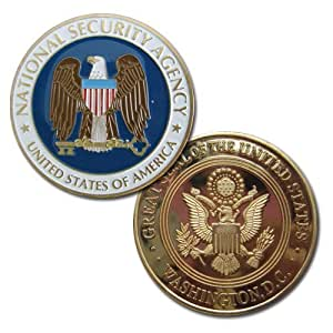 Amazon Com Us National Security Agency Nsa Challenge Coin