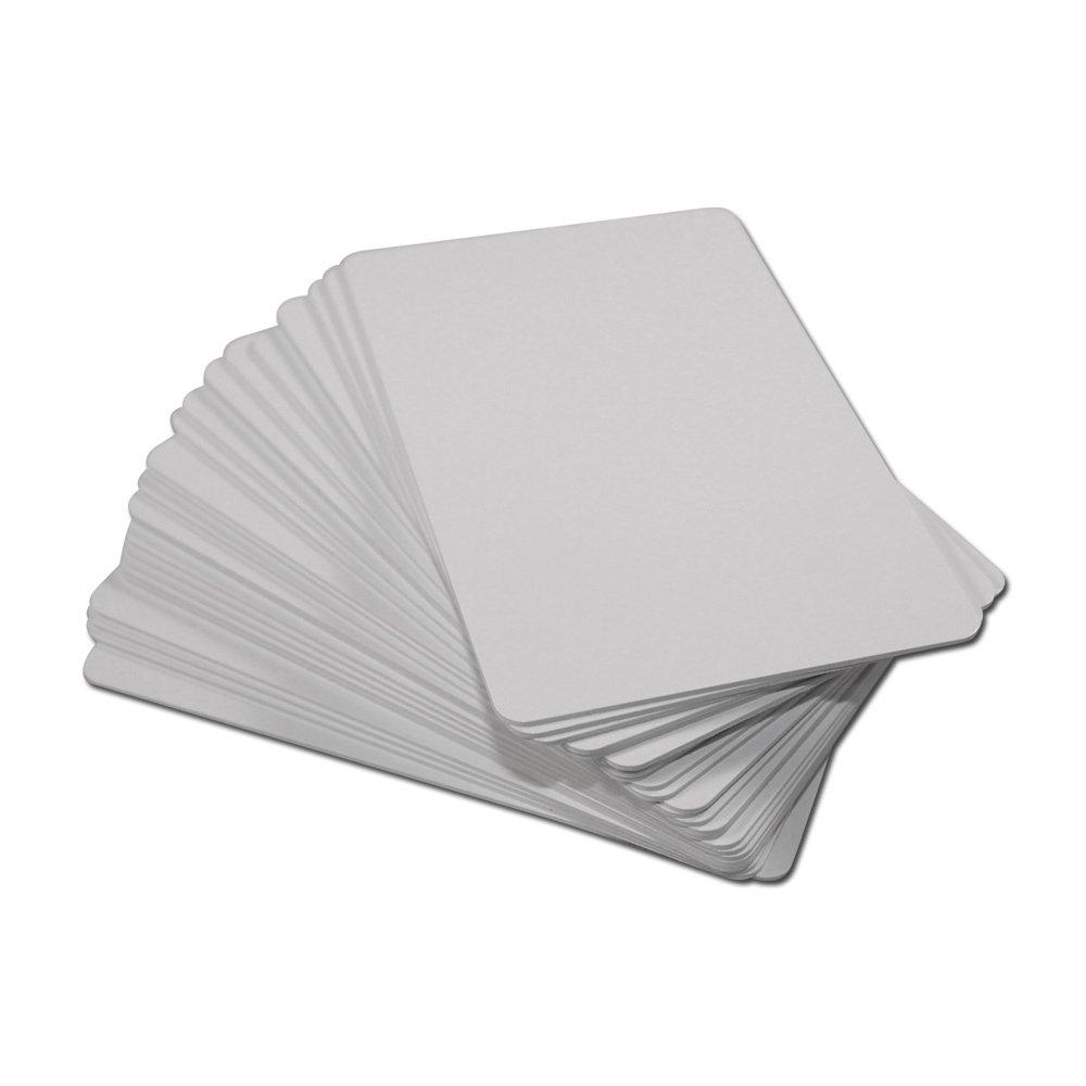 GoToTags NTAG213 - Blank White NFC PVC ISO Cards - 25 Pack 8QYX4QLEZU